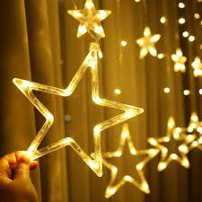 Fairy Lights Taobao 138 Led Twinkle Star Curtain Window Fairy Lights Christmas