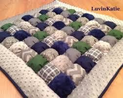 Bubble Quilt Bubble Blanket Puff Quilt Biscuit Quilt NAVY & Bubble Quilt, Bubble Blanket, Puff Quilt, Biscuit Quilt NAVY BLUE GRAY Adamdwight.com