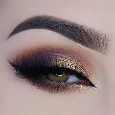 wedding makeup purple smokey eye