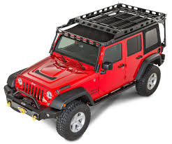 off road unlimited roof racks lod easy access roof rack system for 07 17 jeep wrangler