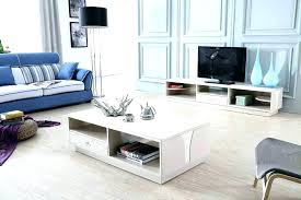 stylish stand coffee table modern glossy white cabinet and set remodel tv stands matching tables