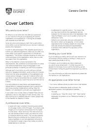 Sir Or Madam Cover Letter Cover Letters The University Of Sydney