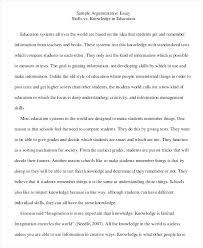 Creative Argumentative Essay Topics Example Of Persuasive Essay College Example Argumentative Essay