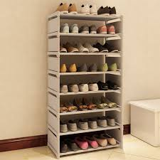 furniture for shoes. New Fashion Pattern Shoe Cabinet Shoes Racks Storage Large Capacity Home Furniture DIY Simple 7 Layers For