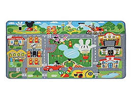 disney mickey mouse clubhouse town interactive game rug mickey mouse area rug