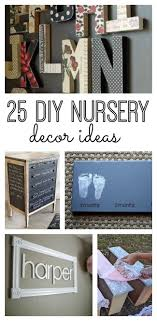 if you re looking for great accents for your baby s nursery without breaking your on diy boy nursery wall art with 25 diy nursery decor ideas