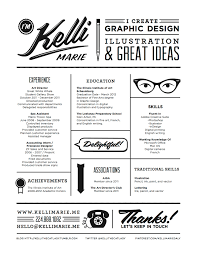 Clean Graphic Design Resume By Kelli Marie Creative Resumes