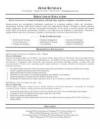 Higher Education Resume Examples Objective For Administration Sample