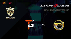 trust gaming vs mith dota2 bo3 dxracer dota2 tournament april