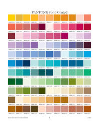 Pantone Coated Color Chart Pdf Pantone Solid Coated Chart Free Download
