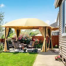 Can You Put A Grill Under Gazebo Backyard Ever