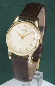 stunning solid 9ct gold rotary maximus mens watch c1954 183637 stunning solid 9ct gold rotary maximus mens watch c1954