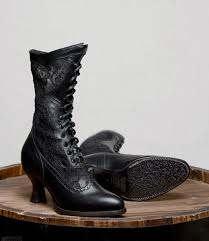 0716b oak tree farms leather and lace victorian style boots catalog oak tree farms leather and lace