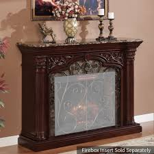 astoria electric fireplace mantel only in empire cherry 33wm0194 c232 tap to expand classic flame