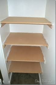 How to build closet shelves Building Step 6 Once The Caulk Dries Youre Ready To Paint Using Semigloss Or Gloss Paint for Resiliency And Durability Paint The Shelves On All Sides Design Build Love Simple Steps To Create Builtin Closet Storage Design Build Love