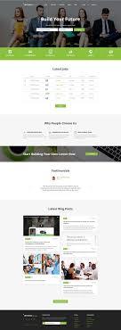 employment responsive web template intense job board website template