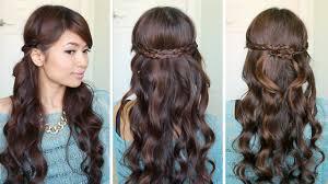 Headband Hair Style irregular braid headband hairstyles hair tutorial youtube 5611 by wearticles.com