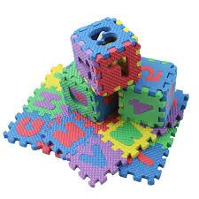 <b>36Pcs</b> Mini Size Puzzle Alphabet A-Z Letters Numeral Foam Mat Kid ...