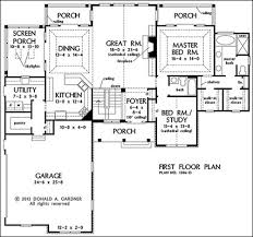 One Story House Plans With Walkout Basement   VAlineOne Story Floor Plans   Basement