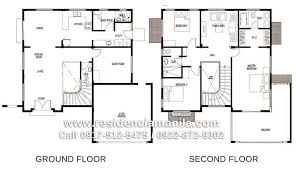 2 y house floor plan in the philippines with 100 square meters house plan 2 y awesome philippines 2 y