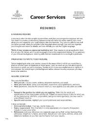 Example Of College Resumes Extraordinary Resume Profile Examples For College Students Resume Profile Examples