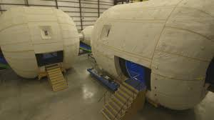 Inflatable Room Inflatable Beam Habitat Attached To Space Station Cnn