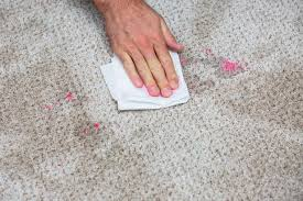 get fingernail polish out of carpet