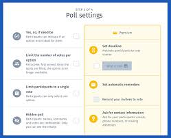 Voting Chart Maker Use This Online Voting System And Create Polls Fast For