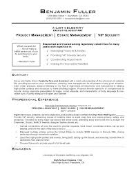sample personal assistant resume sample personal assistant resume blaisewashere com
