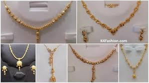 light weight 16 grams gold necklace