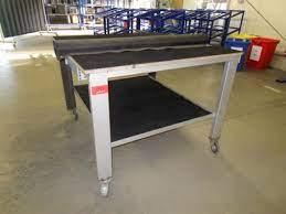 Wir verkaufen einen gebrauchten transportwagen wie abgebildet: Used Bedrunka Hirth Montagetisch For Sale Auction Premium Netbid Industrial Auctions