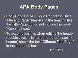 Apa Style The Basics A Una University Writing Center Citation And