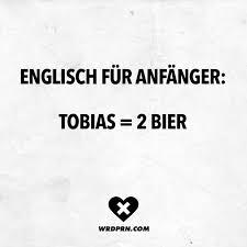 Englisch Für Anfänger Tobias 2 Bier Visual Statements