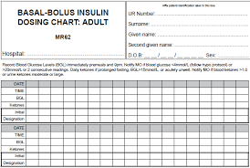Novorapid Dosage Chart User Guide Basal Bolus Insulin Dosing Chart Adult Pdf