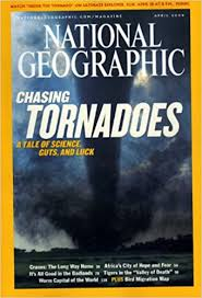 NATIONAL GEOGRAPHIC: CHASING TORNADOES, A TALE OF SCIENCE, GUTS, AND LUCK  APRIL 2004, VOLUME 205, NUMBER 4: Amazon.de: National Geographic April:  Bücher