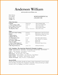 Sample Acting Resume With No Experience Acting Resume No Experience Elegant 60 theatre Resume Template Pics 18