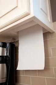 Kitchen towel holder Chrome Clever Hidden Paper Towel Holder From Masterdesigncabin Pinterest Clever Hidden Paper Towel Holder From Masterdesigncabin