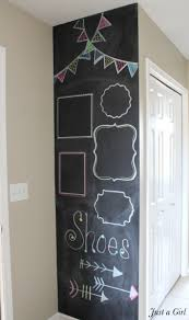 Chalkboard Kitchen Wall Painting A Chalkboard Wall Janefargo