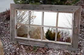 image of window pane style mirrors