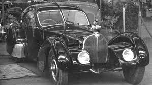 Bugatti's original la voiture noire exited the company's molsheim factory in 1937. The Bugatti Atlantic And Its Mystery