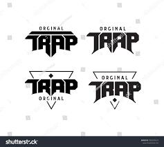 Trap Logo Design Trap Music Original Logo Design Typography Royalty Free