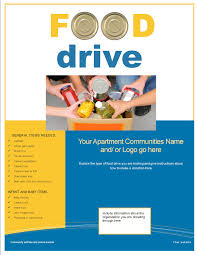 Food Drive Flyer Samples Can Food Drive Flyer Template Ninjaturtletechrepairsco 13