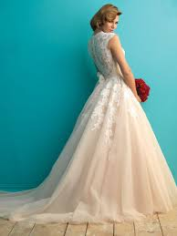 Just In Allure Bridal Style 9272 Full Lace Back And Floaty