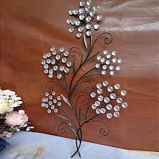 floral metal wall art decor