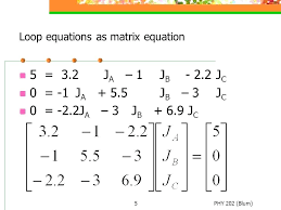 solve simultaneous equations excel 5 5 loop equations as matrix equation 5 a 1 j b c 0 a j b c 0 a 3 j b c solving systems of equations using excel solver