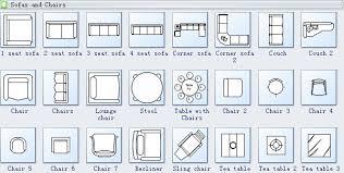 floor plan furniture symbols bedroom.  Floor Sofa As Dining Room Seating Plan For Trend Tip In Floor Furniture Symbols Bedroom T
