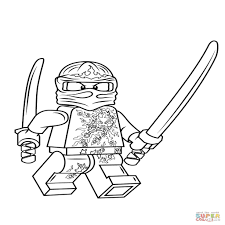 Ithin Nieuwe Lego Ninjago Kleurplaat Dejachthoorn