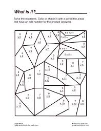 6th Grade Math Activity Worksheets | Homeshealth.info