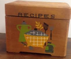 Decorative Recipe Box 100 best Recipe Boxes images on Pinterest Recipe box Boxes and 1