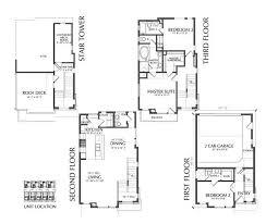 4 story townhouse floor plan